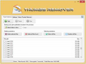 Thumbs Remover 1.6.0 - náhled