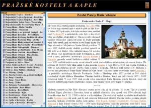 Pražské kostely a kaple - náhled