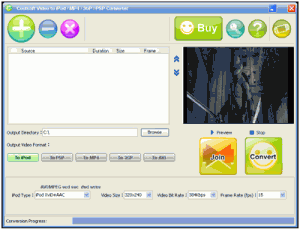 Coolsoft Video Converter 5.0.0.1 - náhled