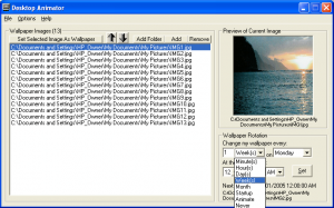 Desktop Animator 1.0.0 - náhled