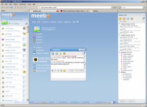 Meebo 1.1 - náhled