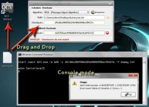 Quick Checksum Verifier 1.1.5 - náhled