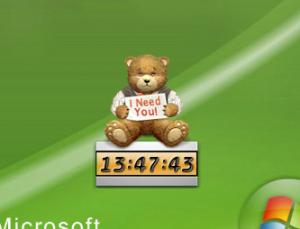 Desktop Pet Clock 1.14 - náhled