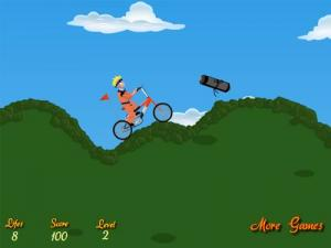 Naruto Bicycle Game - náhled