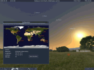Stellarium 0.15.2