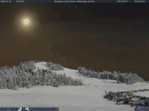 Stellarium 0.19.3 - náhled