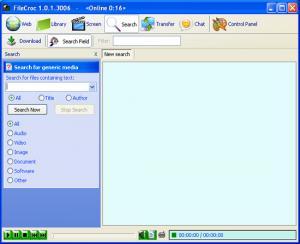 FileCroc 2.0 - náhled