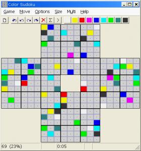 Color Sudoku 3.1 - náhled