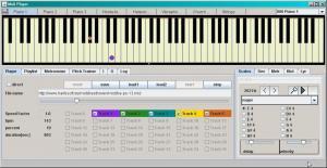 Midi Player Tool 5.7 - náhled