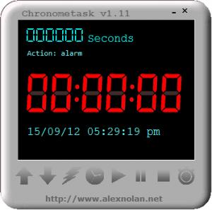 Chronometask 1.11 - náhled