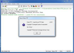 Robo-FTP 3.9.3 - náhled