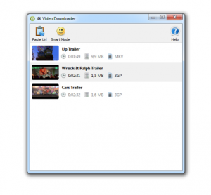 4K Video Downloader 4.4.0.2235 - náhled
