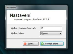 ShutDown PC 0.6 - náhled