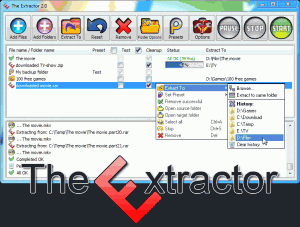 The Extractor 2.0.0 - náhled