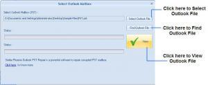 Stellar PST Viewer 1.0 - náhled