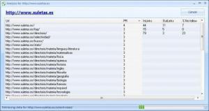 WebSeoAnalyzer 1.0 - náhled