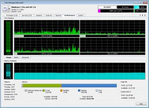 MiTeC Task Manager DeLuxe - náhled