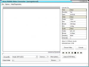 Avex Mobile Video Converter  4.0 - náhled