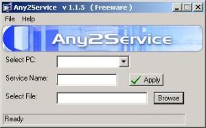 Any2Service 1.1.5 - náhled
