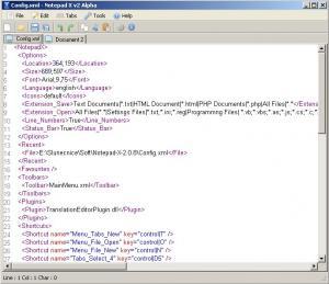 Notepad X 2.1.2 - náhled