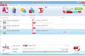 FoxPDF Access to PDF Converter 3.0 - náhled