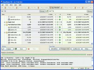 GoodSync 10.5.1 - náhled