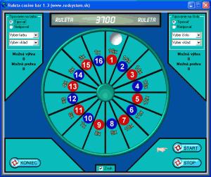 Ruleta casino bar 1.3 - náhled