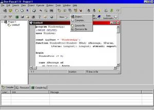 Dev-Pascal 1.9.2 - náhled