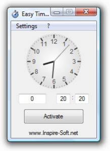 Easy Timer 2.4 - náhled