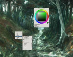 MyPaint 1.2.0 - náhled