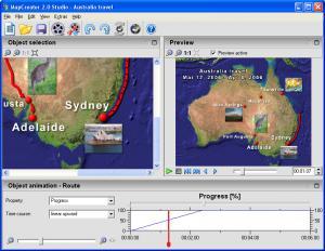 MapCreator 2.0 Free Edition - náhled