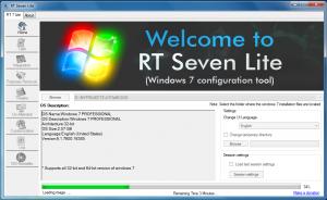 RT Se7en Lite 2.60 beta - náhled