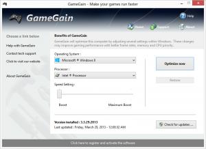 GameGain 4.7.24.2017 - náhled