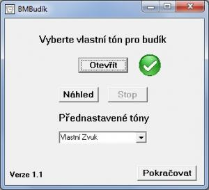 BMBudík 1.2 - náhled