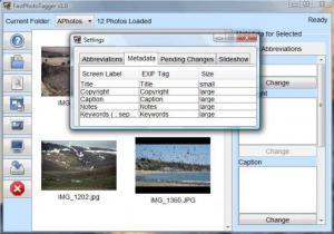 FastPhotoTagger 3.2 - náhled