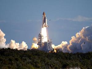 Columbia na startu STS-107 - náhled
