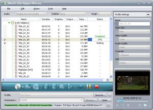 Xilisoft DVD Ripper 5.0.51.1204 - náhled