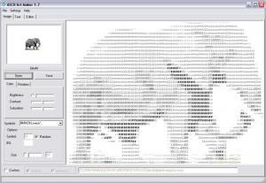 Ascii Art Maker 1.71 - náhled