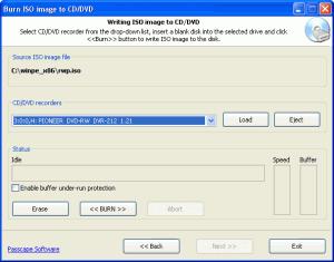 Passcape ISO Burner 1.3.0 - náhled