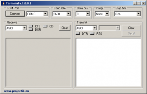 Teminal RS232 1.0.0.2 - náhled