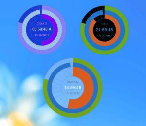 Eusing Clock 2.6 - náhled