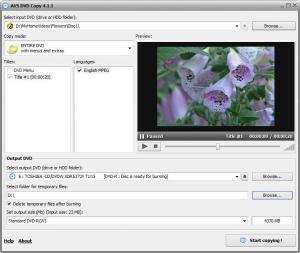 AVS DVD Copy 4.1.2.283 - náhled