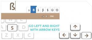 Keyboarder - náhled