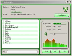Radiola 2.0.4 - náhled