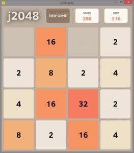 j2048 1.1 - náhled