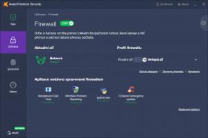 Firewall - náhled
