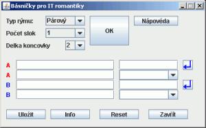 Básničky pro IT romantiky 0.5 Beta - náhled