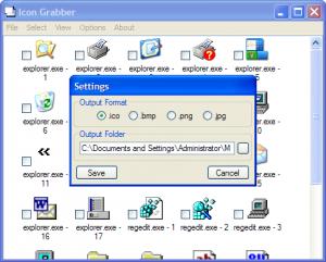 Icon Grabber 1.0.0.2 - náhled