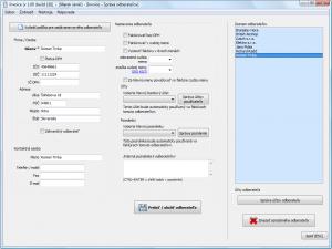 Invoice 1.01 build 39 - náhled