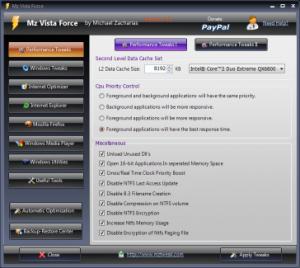Mz Vista Force 3.1.0 - náhled